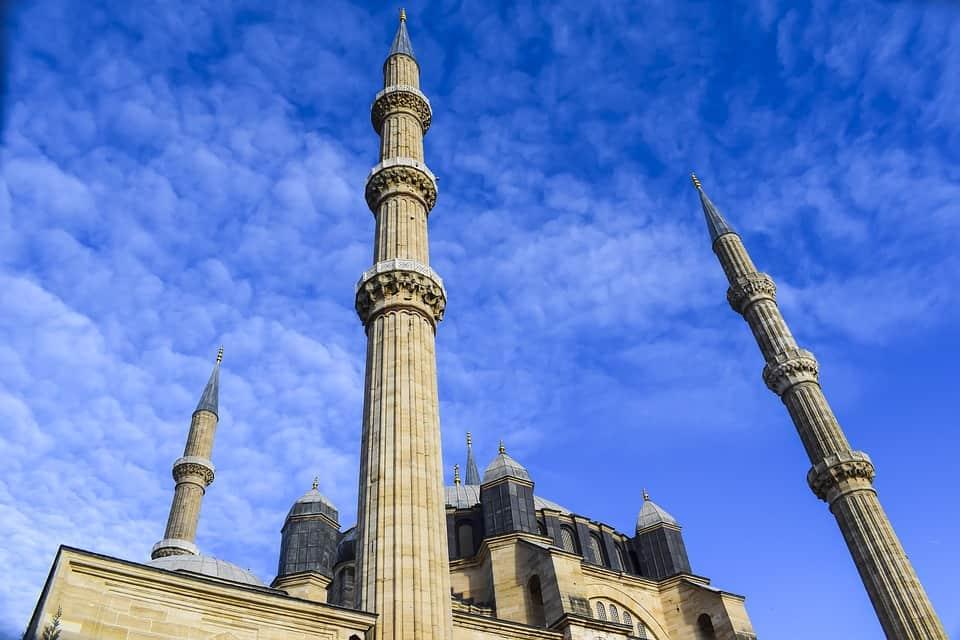 Минаретата на Селимие джамия Одрин